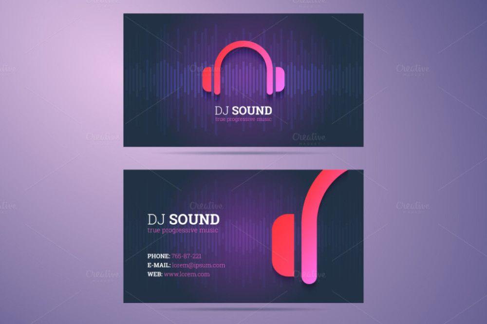 dj-business-card-dj-visiting-card-dj-visiting-card-design DJ - visiting cards