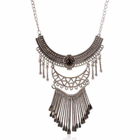 Gypsy Statement Necklace | Tribal Necklace