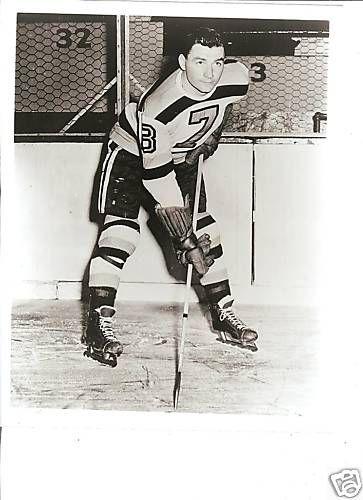 Terry Reardon Boston Bruins Ice Hockey Hockey National Hockey