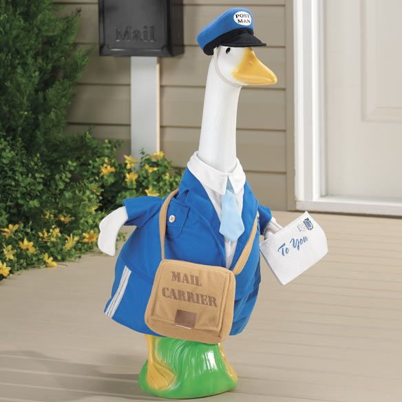 Postal Carrier Goose Outfit 14 99 Goose Clothes Goose Costume