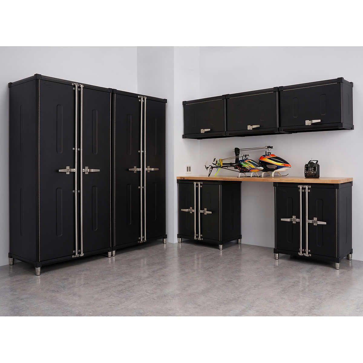 Trinity Pro 8 Piece Welded Garage Cabinet Set In 2020 Garage Cabinets Storage Cabinets Garage Storage