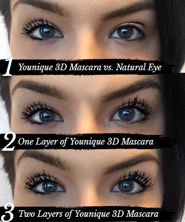 c7574cbb573 Application, We Tried It: Younique Moodstruck 3D Fiber Lashes Mascara -  (Page 3)