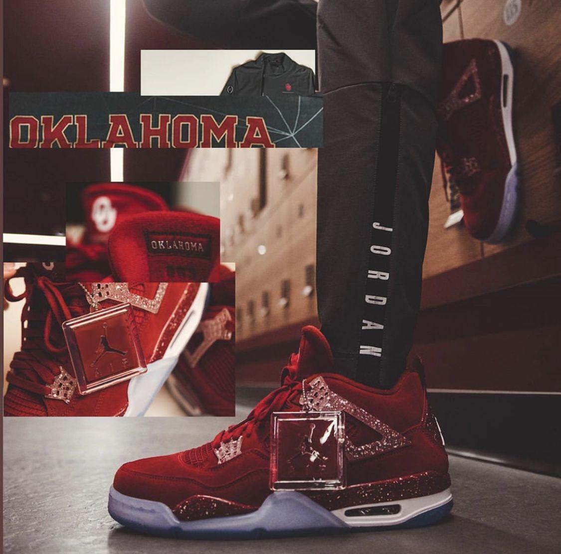 "official photos a1da5 183fa Air Jordan 4 ""Boomer Sooner"""