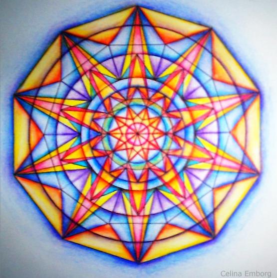 Como Se Pinta Los Mandalas
