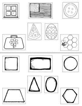 2D Shape Activity {My 2D Shapes Mini-Book} {Common Core