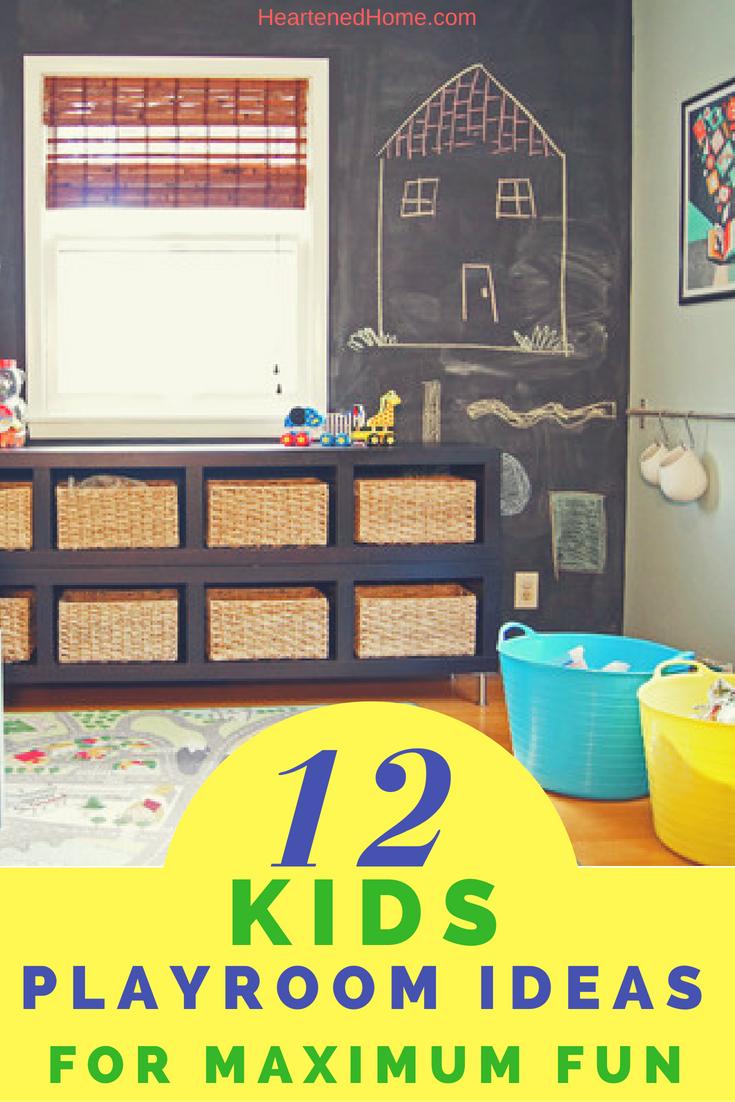 12 kids playroom ideas for maximum fun interior design playroom rh pinterest com