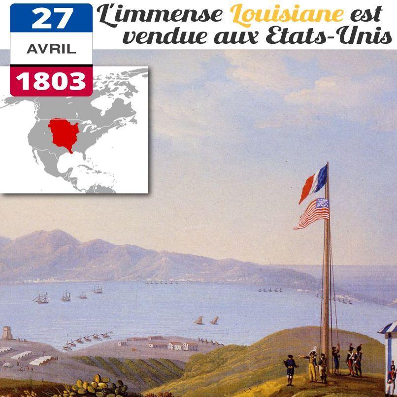 Le 30 Avril 1803, Napoléon Bonaparte Signe Le Traité De