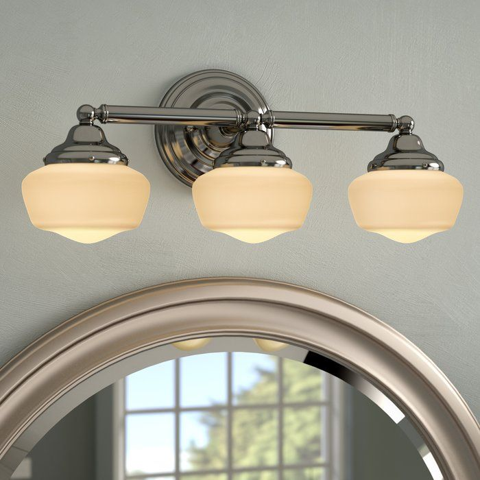 sainz 3 light vanity light bathroom lights vanity lighting rh pinterest com