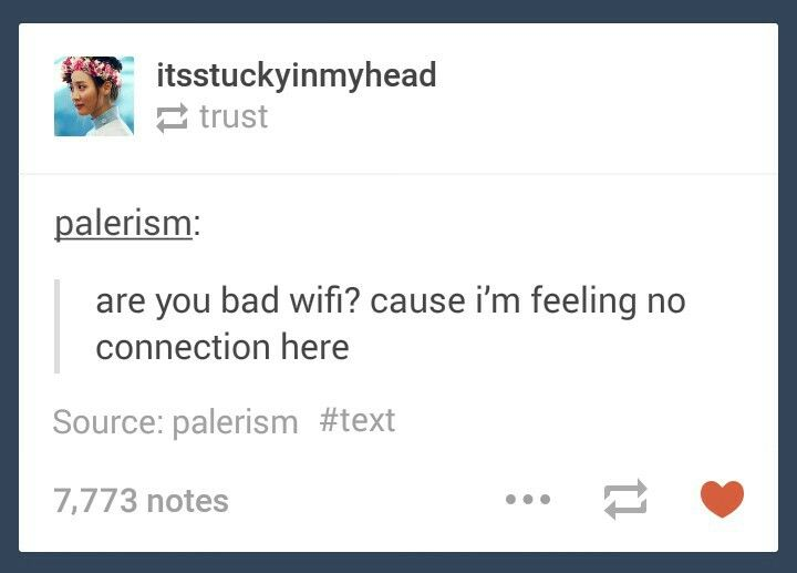 Are You Wifi Pick Up Line
