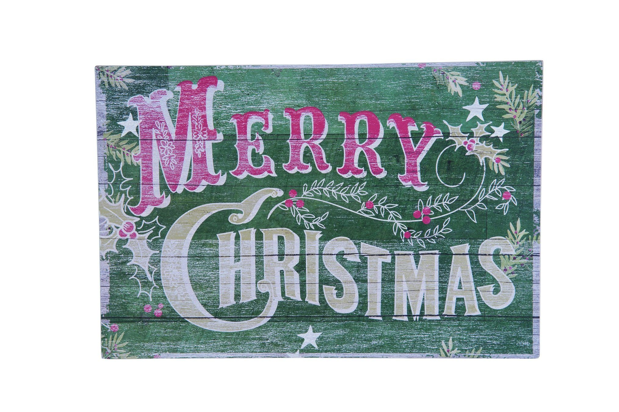 Vintage Wooden Merry Christmas Sign | Christmas pallet ...