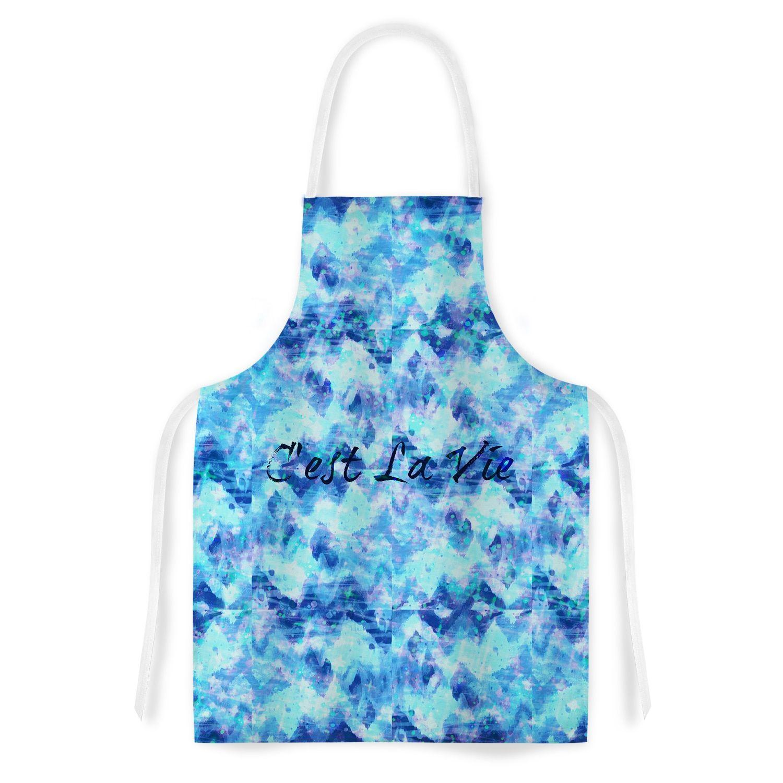 Kess InHouse Ebi Emporium \'C\'est La Vie Revisited\' Blue Aqua ...