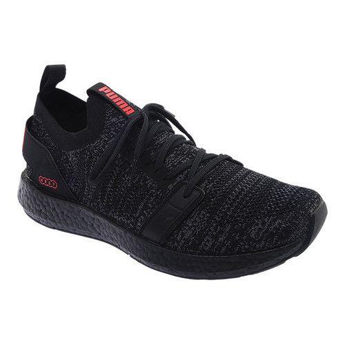 newest collection be386 f4b73 Men's PUMA NRGY Neko Engineer Knit Sneaker - Puma Black/Asphalt/High Risk  Red Sneakers