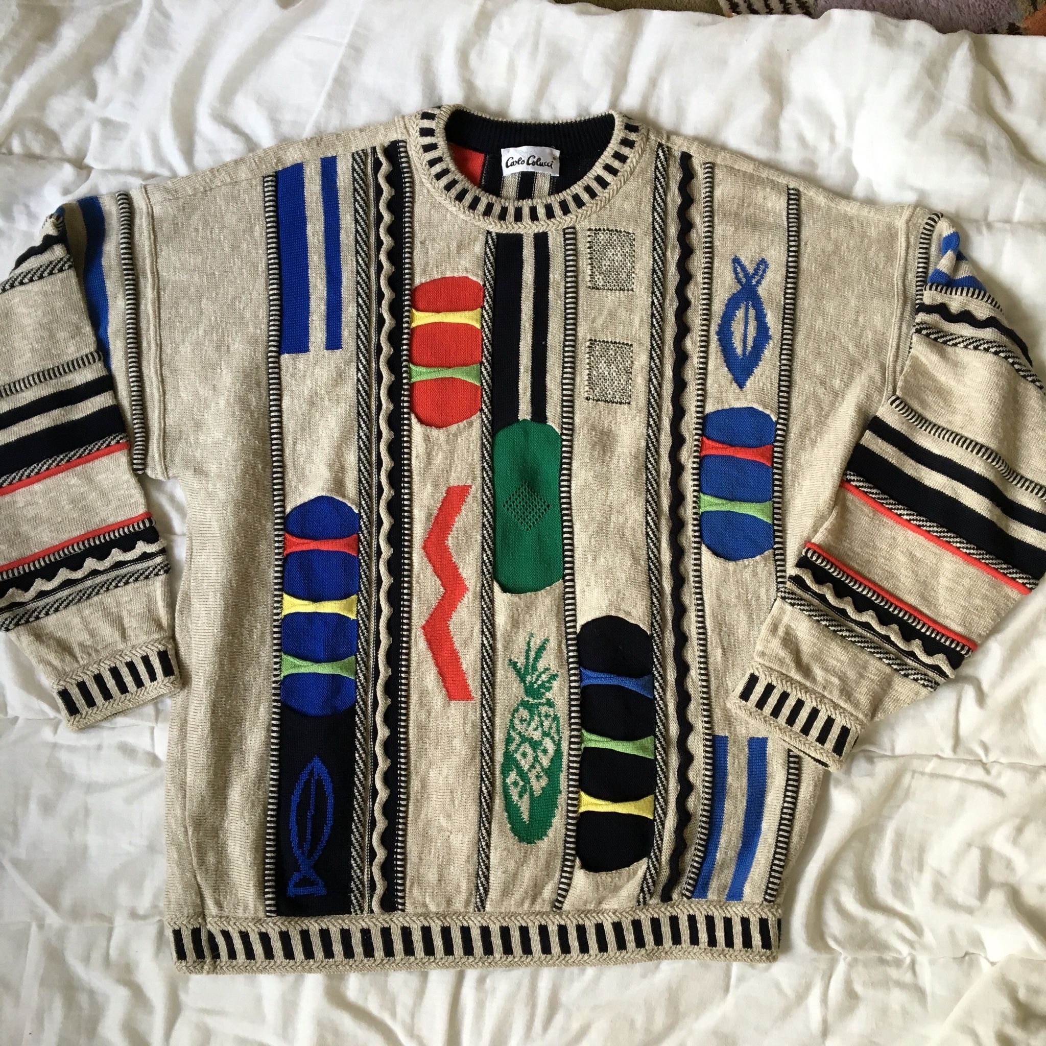 Carlo Colucci Sold Carlocolucci Colucci Vintage Outfits Sweaters Knitting
