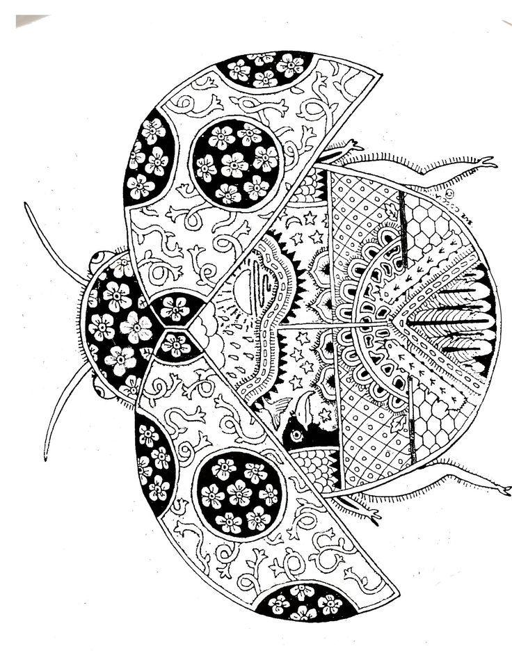 Art Therapie Buscar Con Google Coloriage Ladybug Coloriage Coloriage Mandala