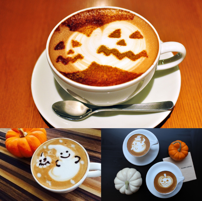 Happy October everyone! Especially, coffee lovers. I hope your next cup of coffee is spooky good!! Follow my Pinterest @kaysosimple for more content such as beauty, natural hair, Pinterest trends & more! #coffeelovers #coffeebrands #coffeetime #coffeedaily #coffeelife #coffeecreamers #coffeegeeks #frappuccino #frappe #caramel #mocha #halloweenedition #halloweentheme #october