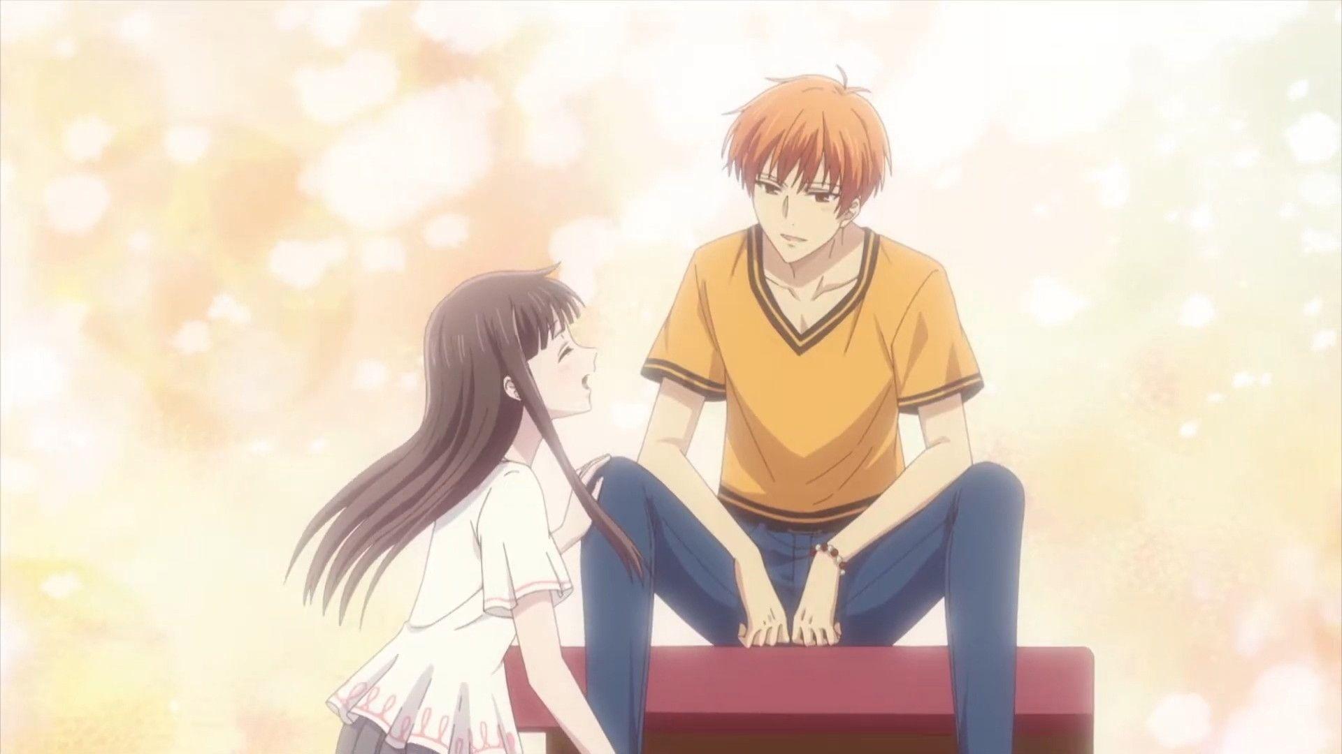 Kyo, Tohru and Yuki Fruits basket, Fruits basket anime