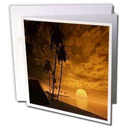 Florene America The Beautiful - Tropical Orange Nite With Full Moon - Greeting Cards-6 Greeting Cards with envelopes by 3dRose. $10.49. Tropical Orange Nite With Full Moon Greeting Card is measuring 5.5w x 5.5h. Greeting Cards are sold in sets of 6 or 12. Give these fun cards to your friends and family as gift cards, thank you notes, invitations or for any other occasion. Greeting Cards are blank inside and come with white envelopes.. Save 28%!