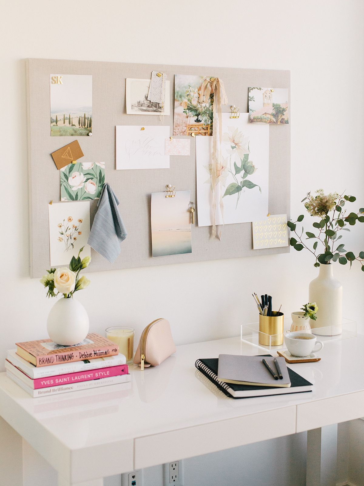 the perfect diy pinboard your home office diy pinnwand home rh pinterest de