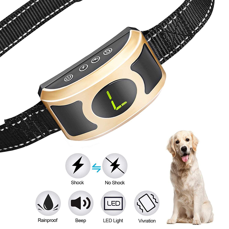 Migohi Bark Collar Rechargeable Humane Anti Bark Shock Collar