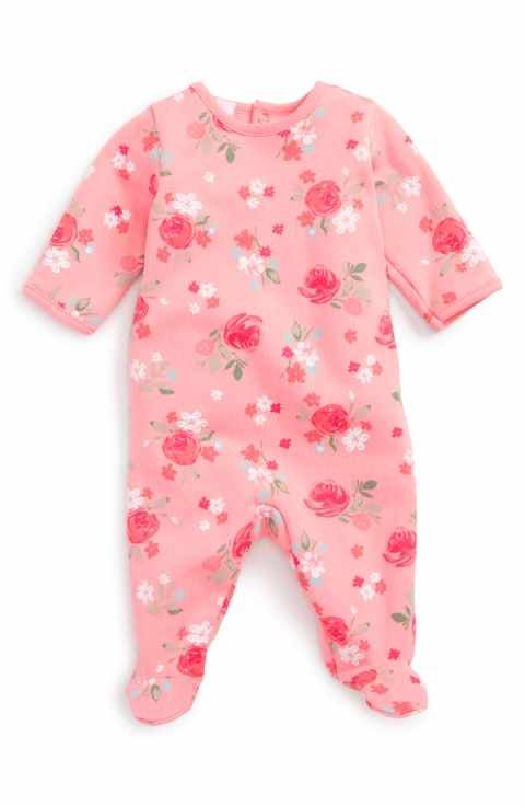 ef687afcd Petit Bateau Floral Print Footie (Baby Girls) | For My Future Baby ...