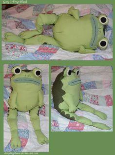 dd0bdd7e4f5f OtGW: Greg's Frog Plush by DonutTyphoon on DeviantArt | Crafts ...