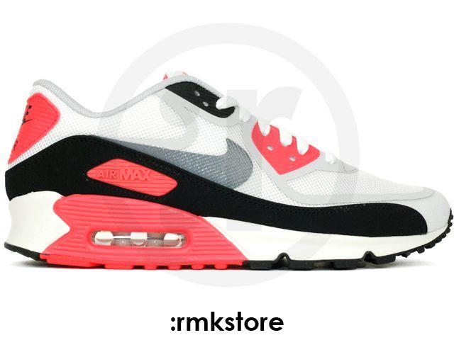 Nike Air Max 90 Prem Tape QS Infrared White Grey