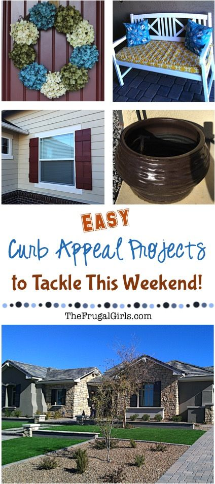 Creating Curb Appeal on a Budget! - The Frugal Girls ...