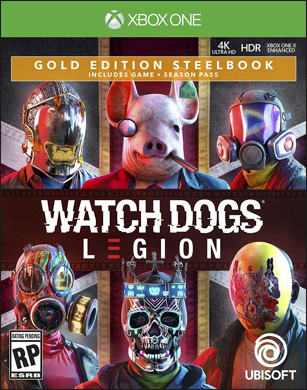 Watch Dogs Legion Gold Edition Xbox One Watch Dogs Xbox One Legion