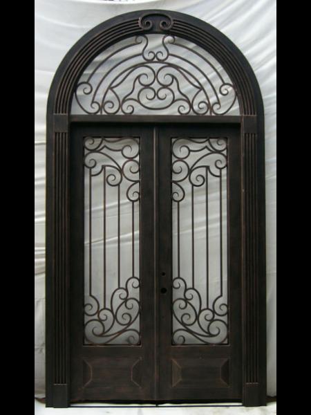 wrought iron doors custom iron doors monarch custom doors rh in pinterest com