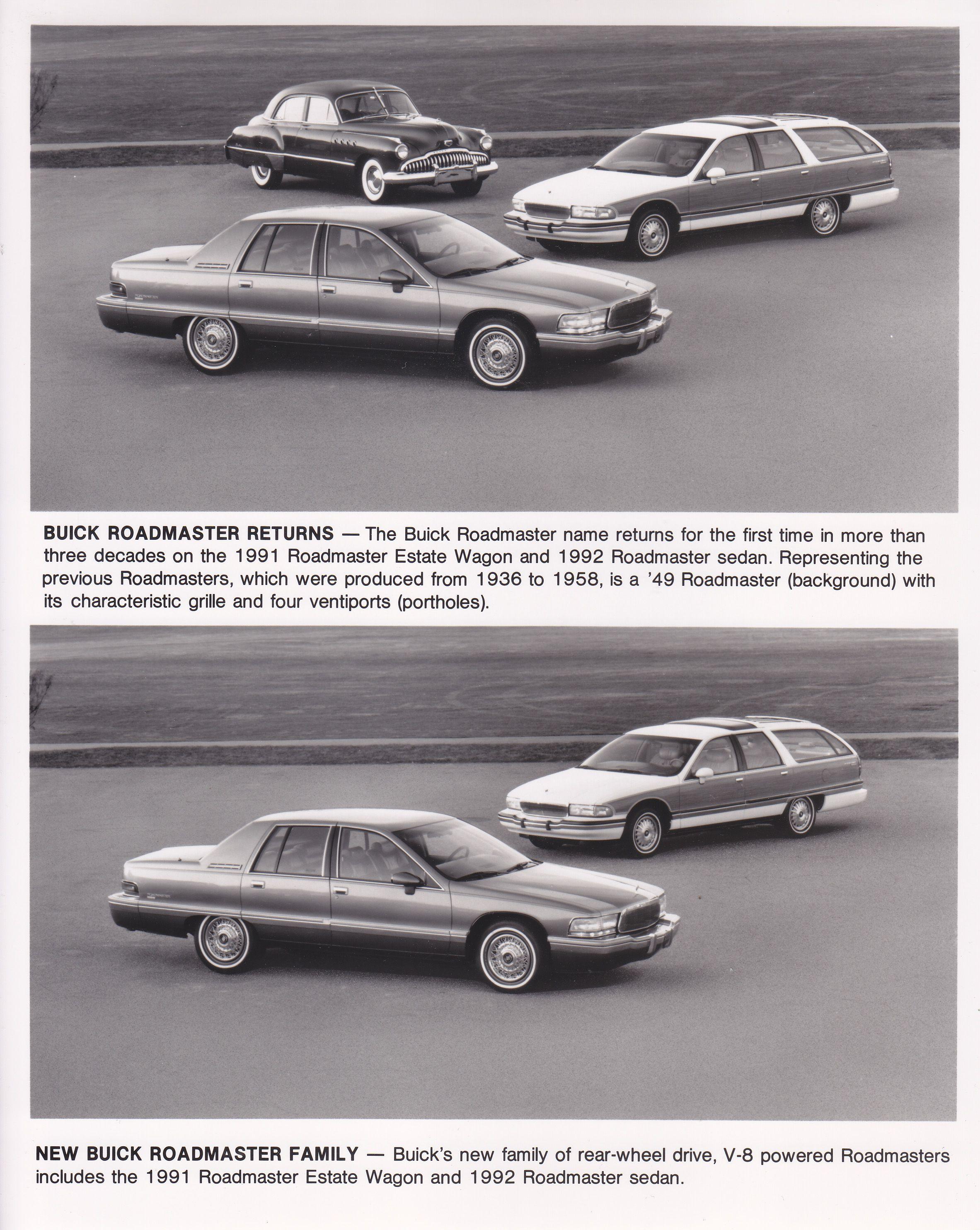 buick roadmaster family 1992 1991 usa general motors rh pinterest com