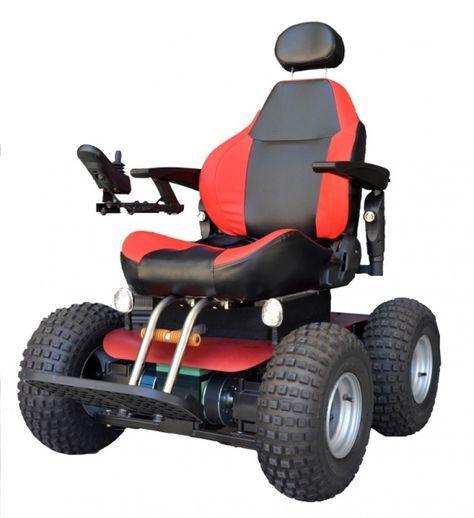a0012 observer beach 4x4 all terrain electric wheelchair rh pinterest com