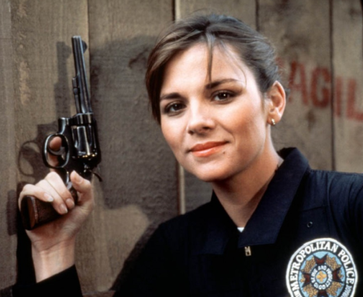 a young kim cattrall (police academy)   Kim cattrall