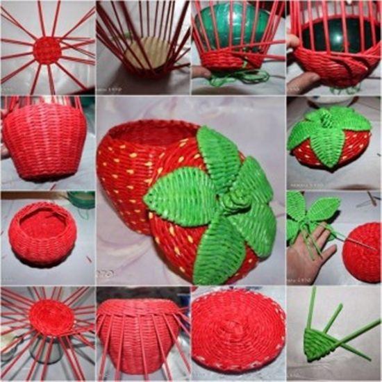 Wonderful Diy Easter Egg Basket From Newspaper Craft Diy Ideas