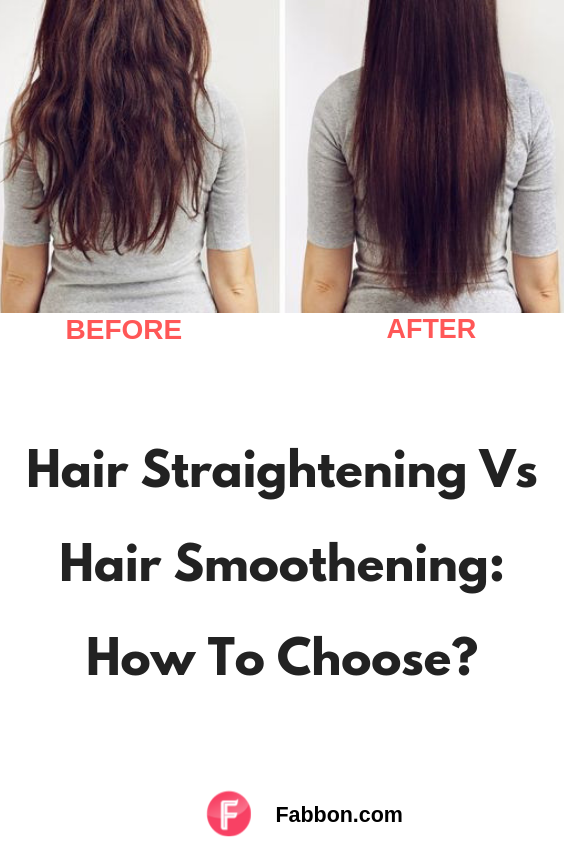 Hair Smoothening Vs Hair Straightening Which One To Go