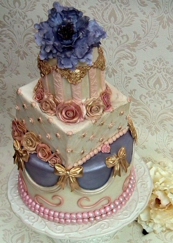 Vintage Romantic cake