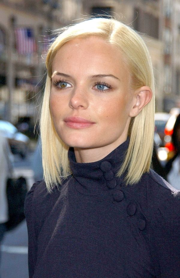 Kate Bosworth Hairstyle Side Part In 2019 Short Hair