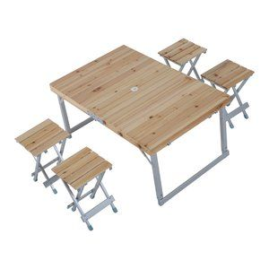 with its classic time proven design portable picnic table really rh pinterest se