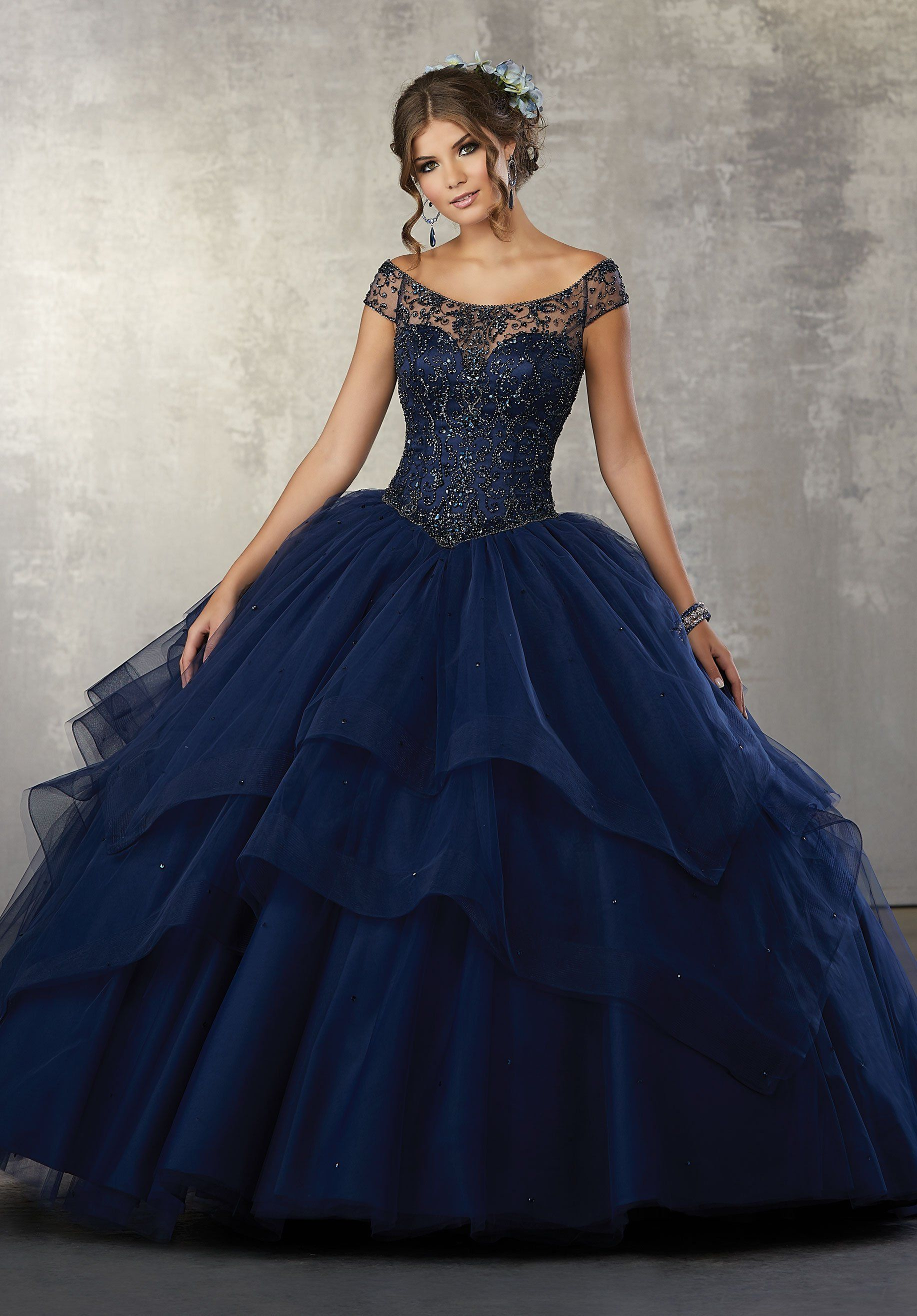 9e06b123667 Off the Shoulder Quinceanera Dress by Mori Lee Vizcaya 89172 ...