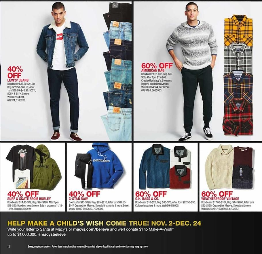 Macy S Black Friday 2018 Ads Scan Deals And Sales See The Macy S Black Friday Ad 2018 At 101blackfriday Com Macys Black Friday Black Friday Ads Black Friday