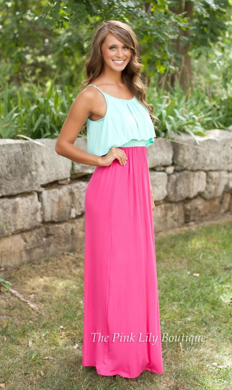The Pink Lily Boutique - Chances Are Good Maxi, $39.00 (http ...
