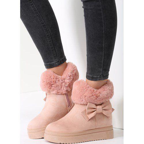 Rozowe Sniegowce Warm Up Renee Renee Pl Ugg Boots Boots Fashion