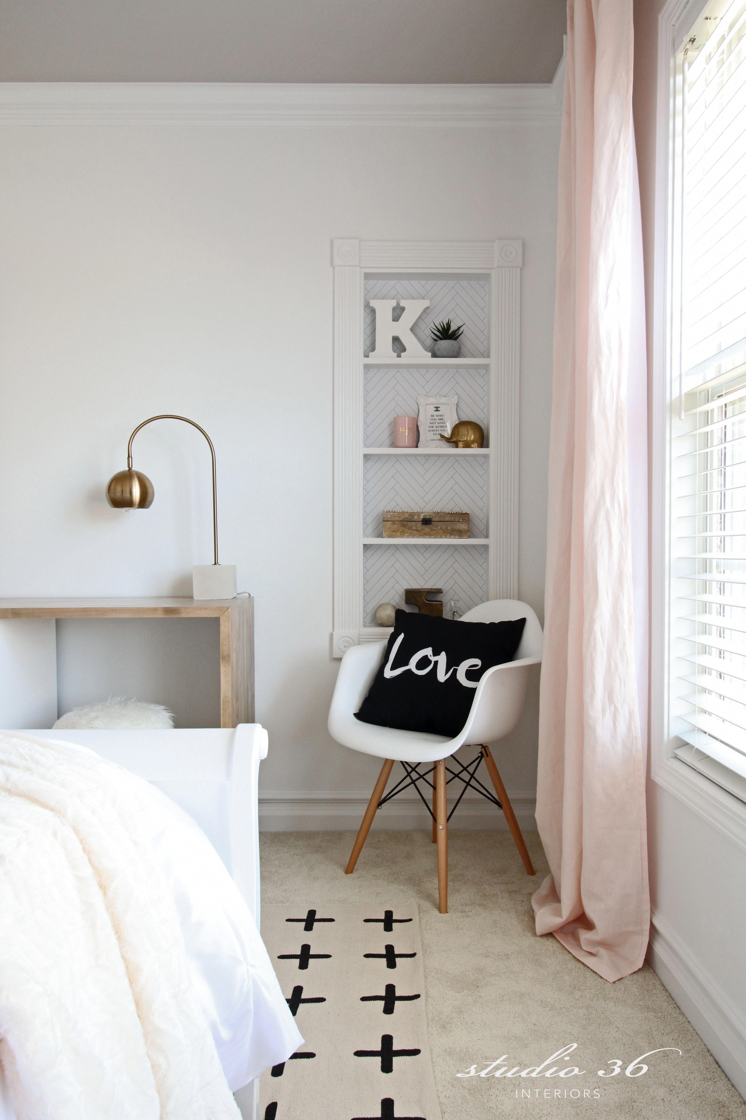 teen girl s bedroom makeover builtin modern uohome rh pinterest com
