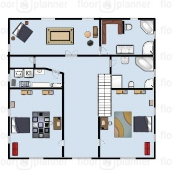 First Floor Plan 2 Large Kids Bedrooms Laundry Room Storage Closet Large Master With Walk In Closet And En Suit House Floor Plans Floor Plans My Ideal Home