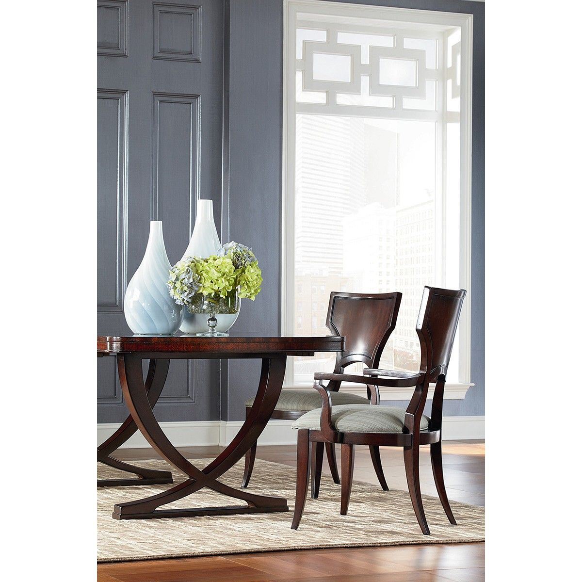 Thomasville Spellbound Double Pedestal Dining Table Thomasville