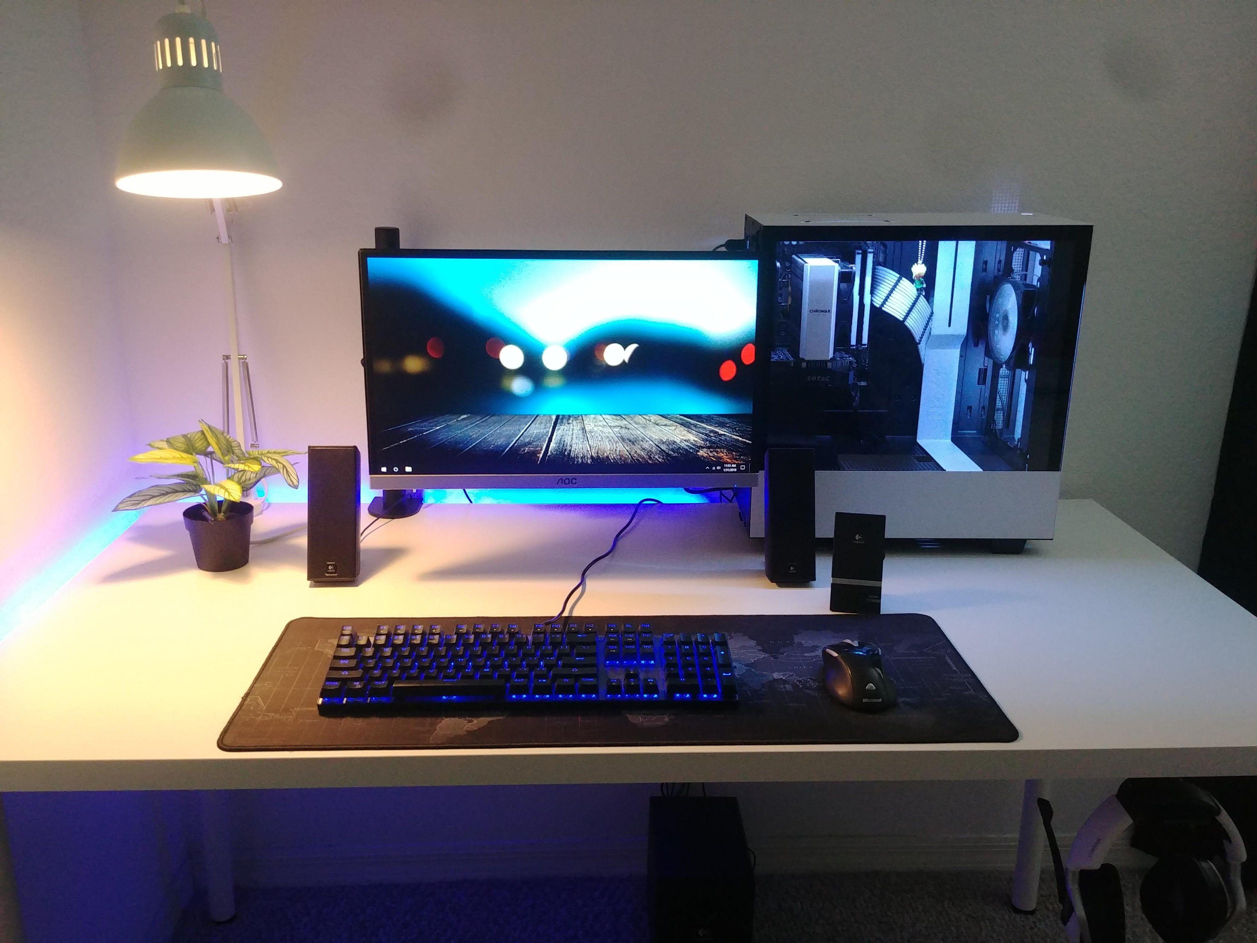 like follow battlestations desktop gaming gamer gamingpc rh pinterest com