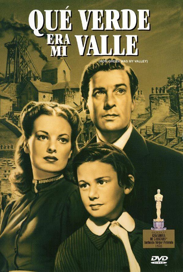 Qué Verde Era Mi Valle 1941 Eeuu Dir John Ford Drama Familia Vida Rural Cine Social D Mejores Carteles De Películas Peliculas Cine Carteleras De Cine
