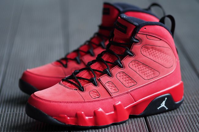 air jordan retro 9 red