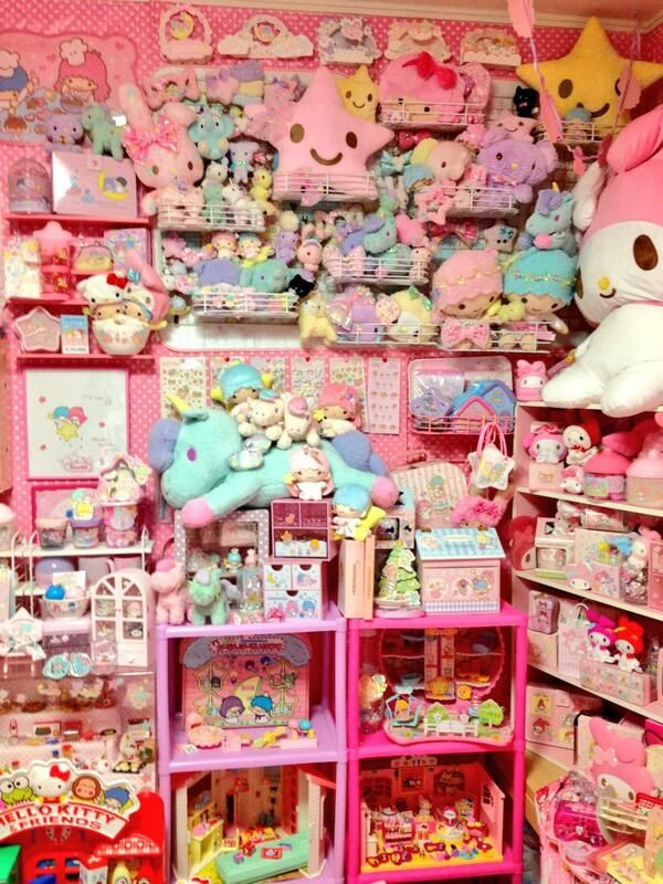 1000+ images about Kawaii bedroom on Pinterest