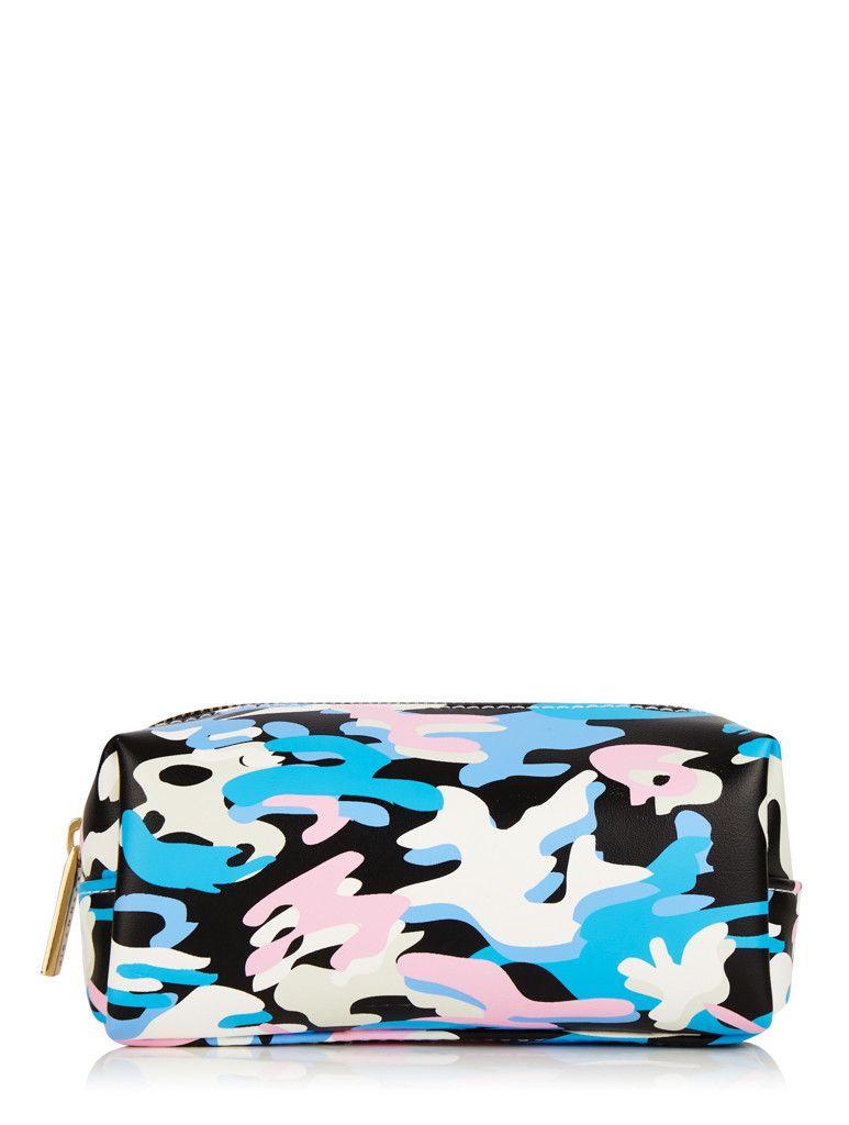 Skinnydip Small Camo Make Up Bag