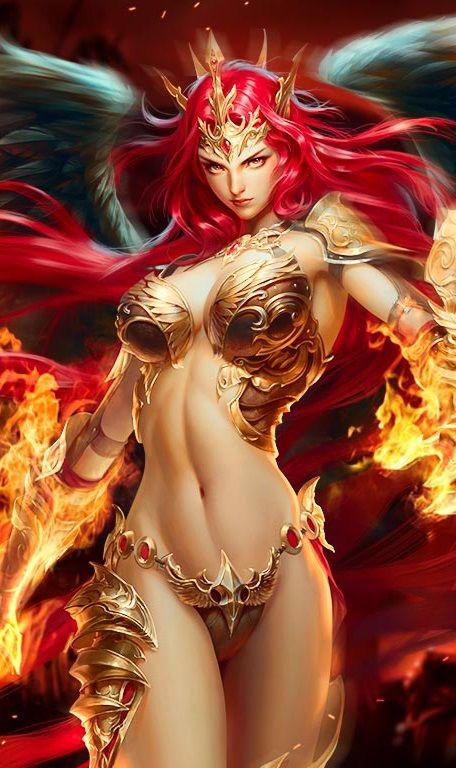 #LOA | Mikaela/Angel of Fire (Angel)